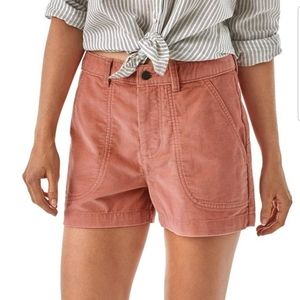 Patagonia womens cord stand up shorts